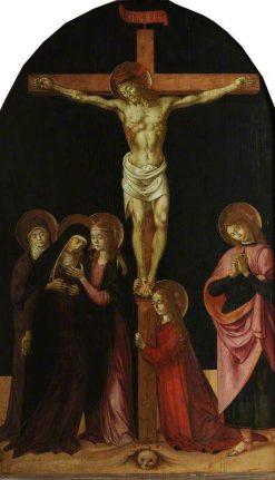The Crucifixion | Biagio d'Antonio | Oil Painting