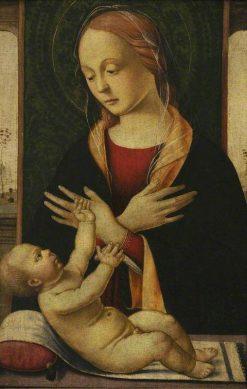 The Virgin Adoring the Child | Biagio d'Antonio | Oil Painting