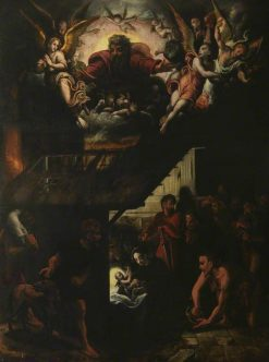 The Adoration of the Shepherds | Cornelis van Cleve | Oil Painting
