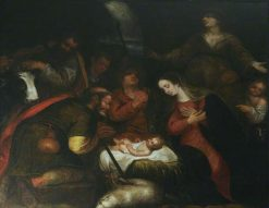 Adoration of the Shepherds | Dutch School th Century   Unknown | Oil Painting