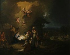 The Adoration of the Shepherds | Francesco Zuccarelli | Oil Painting