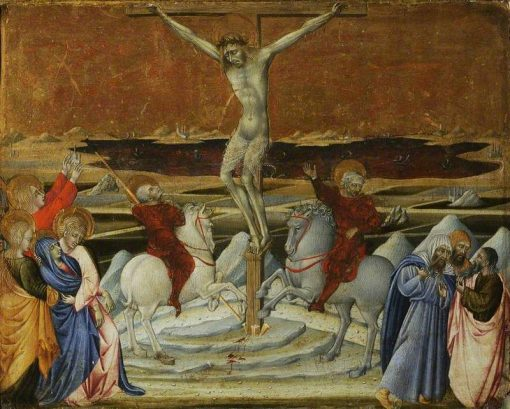Calvary   Giovanni di Paolo   Oil Painting
