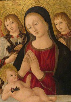 Virgin and Child | Guidoccio Cozzarelli | Oil Painting