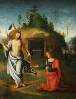 Christ Appearing to the Magdalen | Il Bacchiacca | Oil Painting