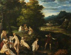 Diana and Actaeon | Lambert Sustris | Oil Painting