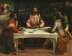 The Supper at Emmaus | Lorenzo Lotto | Oil Painting
