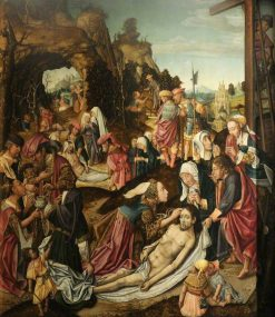 The Deposition of Christ | Master of Delft | Oil Painting