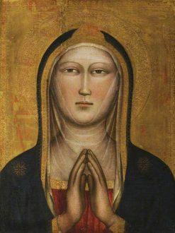 Bust of the Virgin | Niccolò di Pietro Gerini | Oil Painting