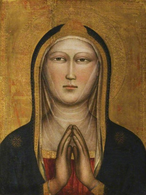 Bust of the Virgin | Niccolò di Pietro Gerini | Oil Painting