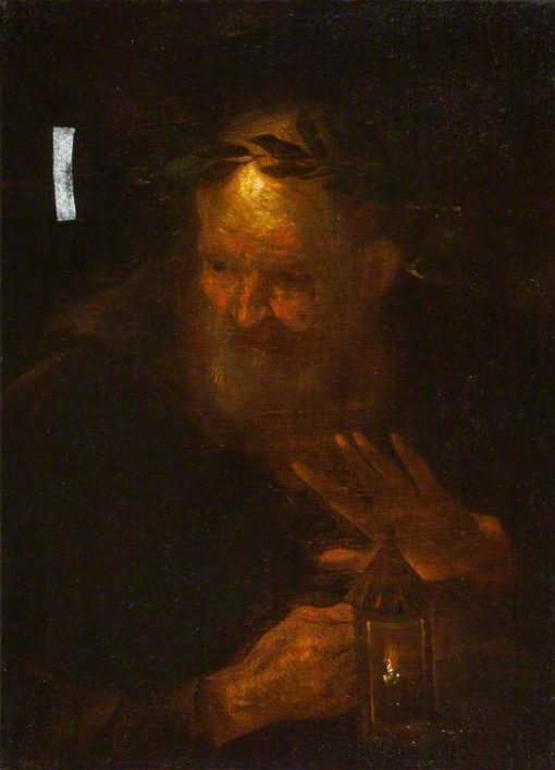 Diogenes | Pier Francesco Mola | Oil Painting