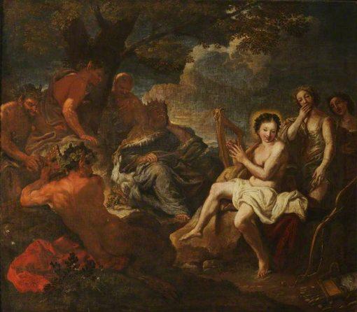 The Judgement of Midas | Sebastiano Ricci | Oil Painting