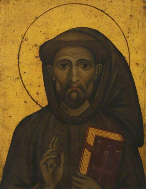 Bust of Saint Francis | Spanish School th Century   Unknown | Oil Painting