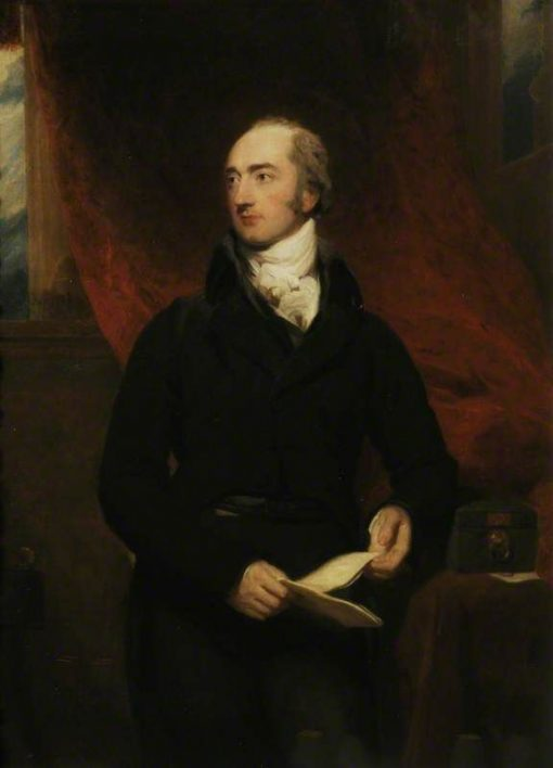 George Canning (1770-1827) | Thomas Lawrence | Oil Painting