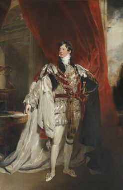 George IV (1762-1830)   Thomas Lawrence   Oil Painting