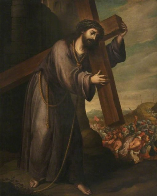 Christ Carrying the Cross on His Way to Calvary | Juan de ValdEs Leal | Oil Painting