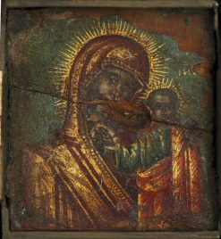 Triptych (centre panel)   Byzantine School Unknown   Oil Painting