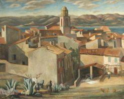 St Tropez | Roger Eliot Fry | Oil Painting