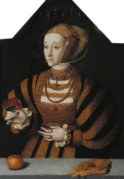 Anne of Cleves   Bartholomaeus Bruyn the Elder   Oil Painting