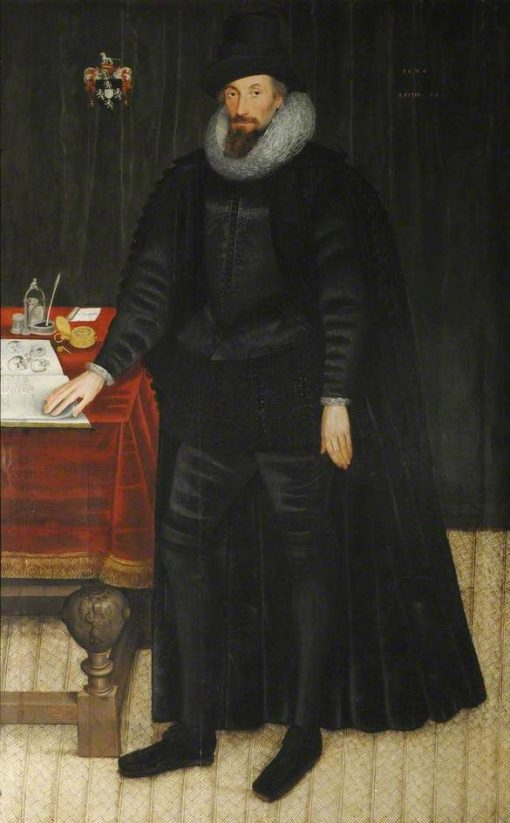 Sir William Paddy   Marcus Gheeraerts the Younger   Oil Painting