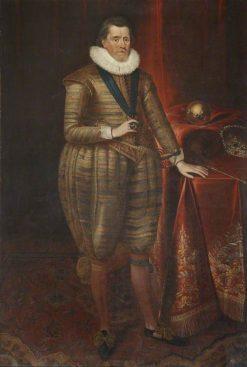 James I (1566-1625) | Paulus van Somer I | Oil Painting