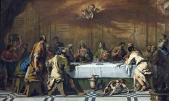 The Last Supper | Sebastiano Ricci | Oil Painting