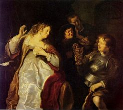 Sophonisba Receiving the Cup of Poison | Salomon Koninck | Oil Painting