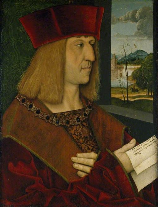 The Emperor Maximilian I (1459-1519) | Bernhard Strigel | Oil Painting