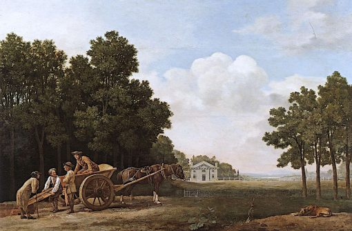 The Labourers | George Stubbs | Oil Painting