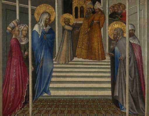 The Presentation of the Virgin | Giovanni di Paolo | Oil Painting