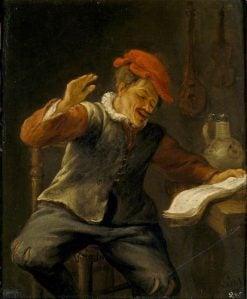 The Sense of Hearing | Jan Havicksz. Steen | Oil Painting