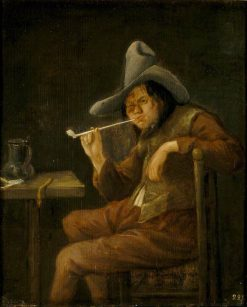 The Sense of Smell | Jan Havicksz. Steen | Oil Painting