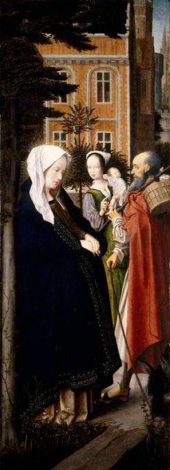 The Virgin and Saint Joseph at Bethlehem (recto) | Jan Provoost | Oil Painting