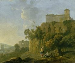 A Convent on a Rock | Richard Wilson