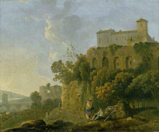 A Convent on a Rock | Richard Wilson