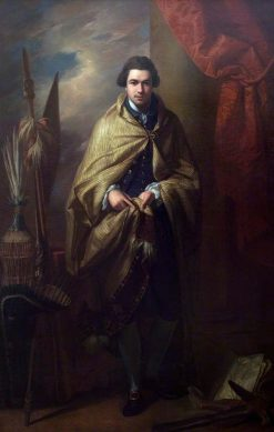 Sir Joseph Banks (1743-1820) | Benjamin West | Oil Painting