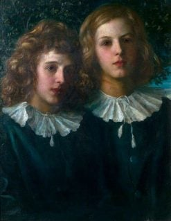 Hallam and Lionel Tennyson | George Frederic Watts | Oil Painting