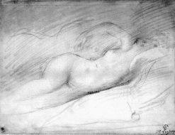 Study of a Sleeping Odalisque
