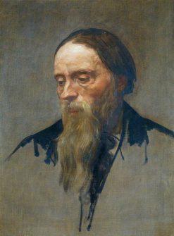 Sir Edward Coley Burne-Jones (1833-1898) | Alphonse Legros | Oil Painting
