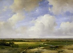 Landscape near Haarlem | Andreas Schelfhout | Oil Painting