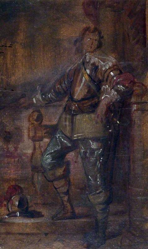 A Man in Half Armour | Anthony van Dyck | Oil Painting
