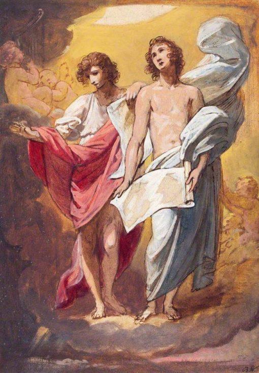 Angels | Benjamin West | Oil Painting