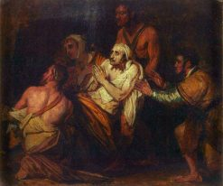 Christ Healing the Sick (sketch) | Benjamin West | Oil Painting