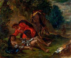 The Good Samaritan | Eugene Delacroix | Oil Painting