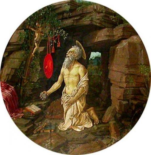 Saint Jerome in the Desert   Francesco Granacci   Oil Painting