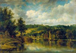 On the Wye | Frederick Waters Watts | Oil Painting