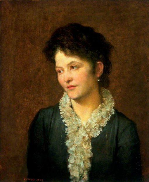 Agathoniki Ionides (1841-1920)   George Frederic Watts   Oil Painting