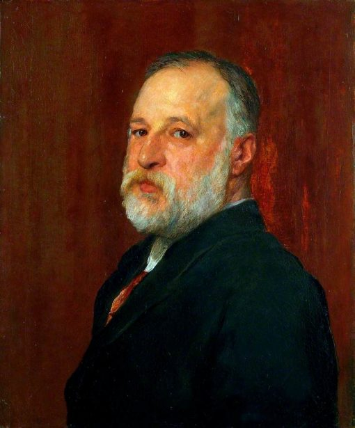 Constantine Alexander Ionides (1833-1900) | George Frederic Watts | Oil Painting