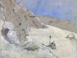 Aboo Simbel | Hercules Brabazon Brabazon | Oil Painting