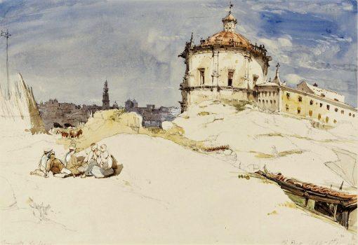 Convento da Serra   James Holland   Oil Painting