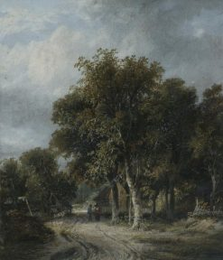 Landscape: A Road on the Skirts of a Common | James Stark | Oil Painting